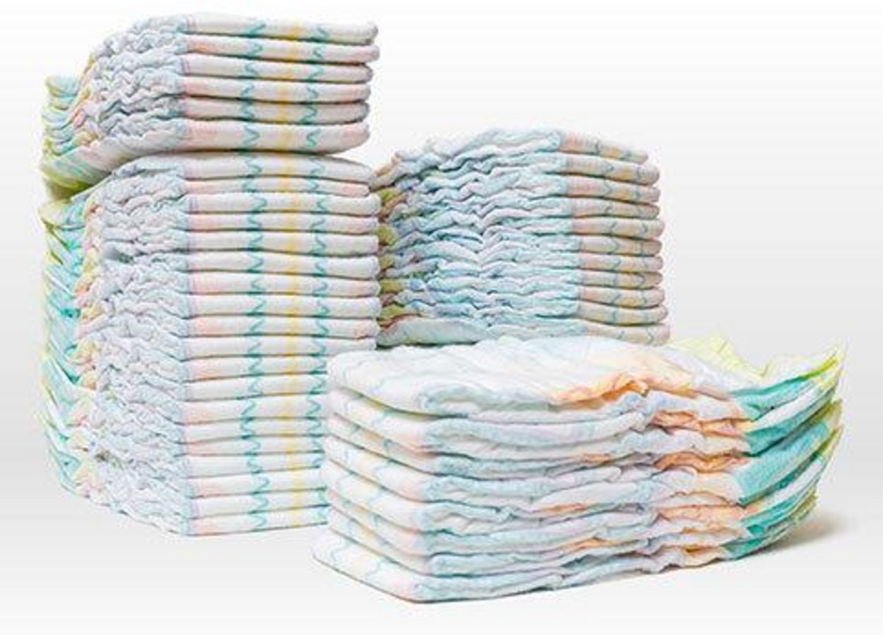 Size 1 Diapers (100 count)